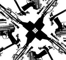christian guns Sticker