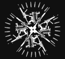 christian guns  white by zuluyama