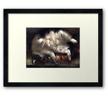 Ivan Asleep Framed Print