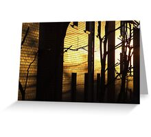 Sunrise - Sydney University Village Greeting Card
