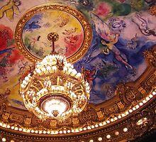 Chagall Ceiling, Opera Garnier by Linda Hardt