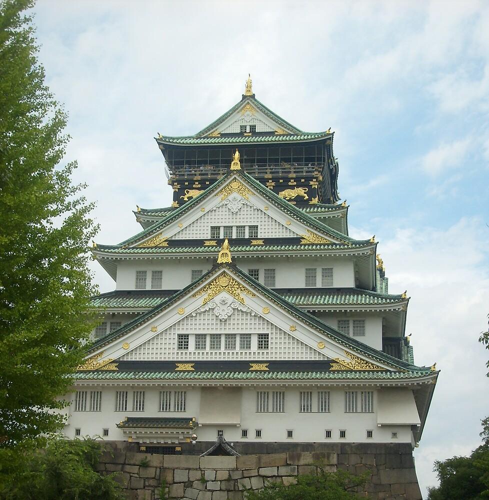 Osaka Castle by lilac-hime
