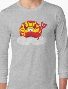 Devils Sun Darkness in Red Rainbow T-Shirt