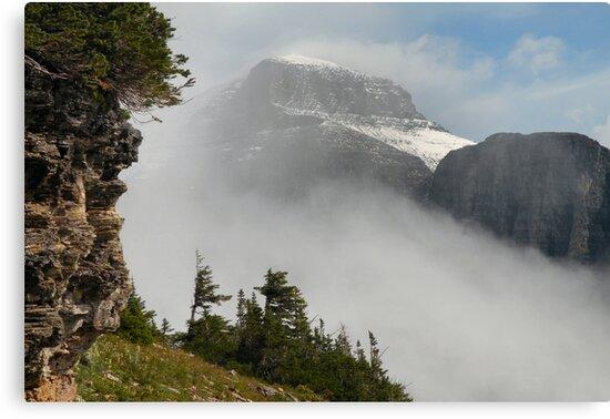 Mount Gould - Glacier National Park, Montana, USA by Dave Martsolf