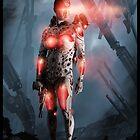Cyberpunk Painting 052 by Ian Sokoliwski