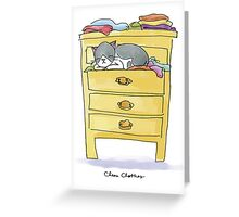 Clean Clothes Greeting Card