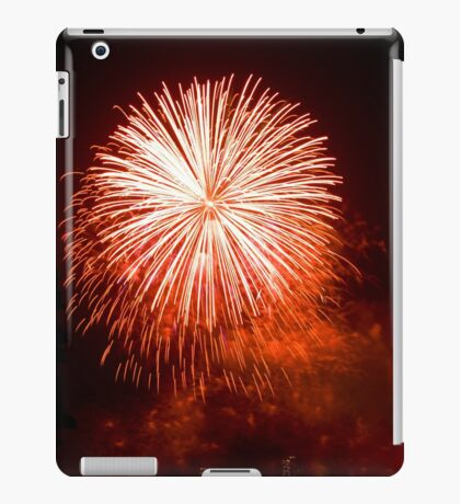 Red Light At Night - Sydney Harbour - New Years Eve - Midnight Fireworks  iPad Case/Skin