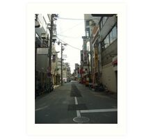 Alleys of Japan Art Print