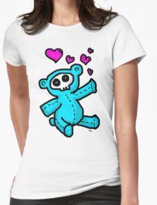 stuffed Bear Womens Fitted T-Shirt