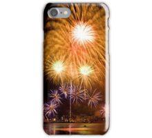 Sunflower Burst - Sydney Harbour - New Years Eve - Midnight Fireworks iPhone Case/Skin