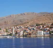 Halki island, Greece by David Fowler