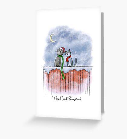 The Carol Singers Greeting Card