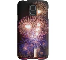 The First Bang - Sydney Harbour - New Years Eve - Midnight Fireworks Samsung Galaxy Case/Skin