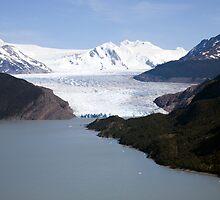 Lago Grey & the Grey Glacier, Torres del Paine, Chile by parischris