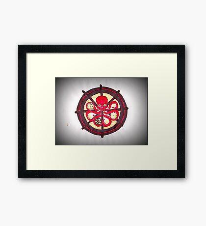 Hail Hydra Logo Framed Print
