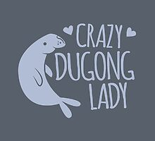 Crazy Dugong Lady by jazzydevil