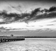 Eastern Beach Mono by Neil Robinson