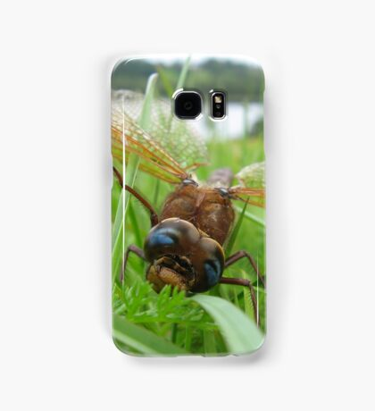 The dragonfly has overthrown Samsung Galaxy Case/Skin