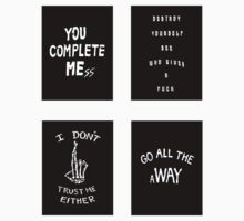 Luke's Shirts Sticker Set by thevamps