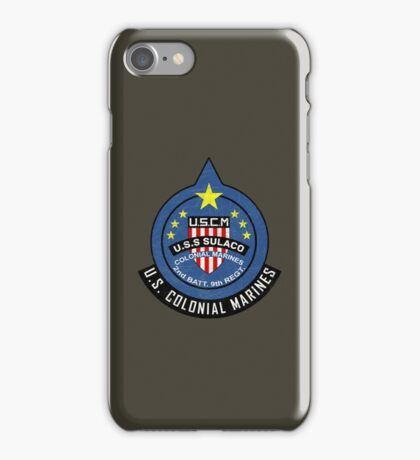 United States Colonial Marine Corps - Aliens iPhone Case/Skin