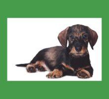 Cute Puppy dachshund Kids Clothes