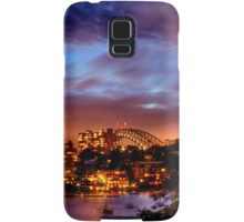 Sydney Harbour - Before New Year's Eve Fireworks Samsung Galaxy Case/Skin