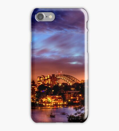Sydney Harbour - Before New Year's Eve Fireworks iPhone Case/Skin