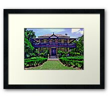 Boronia House, Mosman - NSW - Australia Framed Print