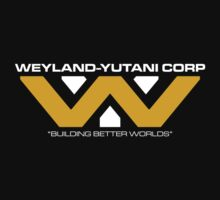 The Weyland-Yutani Corporation Logo Kids Tee
