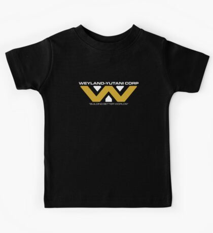 The Weyland-Yutani Corporation Logo Kids Tee