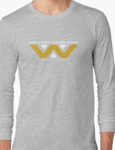 The Weyland-Yutani Corporation Logo Long Sleeve T-Shirt
