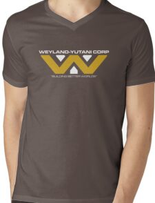 The Weyland-Yutani Corporation Logo Mens V-Neck T-Shirt