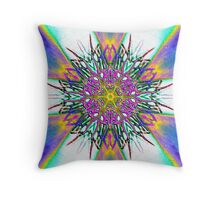 Find what you need at the end of a rainbow Throw Pillow