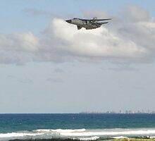 RAAF F111 fast pass by bigpetesol