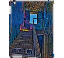 Stairwell in The Centre of Graffiti - SYDNEY iPad Case/Skin