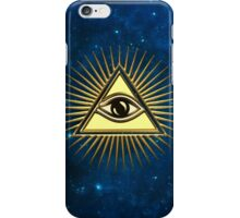 Eye Of Providence - All Seeing Eye Of God - Symbol Omniscience iPhone Case/Skin