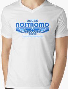 Nostromo - Alien - Prometheus (Clean non-distressed) Mens V-Neck T-Shirt