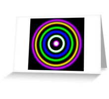 Shock Waves Greeting Card