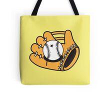 Cute Baseball mitt Tote Bag