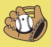 Cute Baseball mitt Kids Clothes