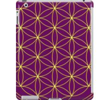 Flower of life - Gold, healing & energizing iPad Case/Skin