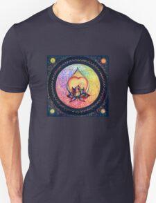 """The Drop of Golden Rain"" - Mandala of Wealth T-Shirt"