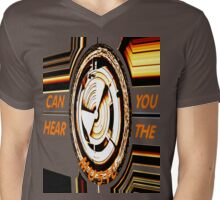 Can You Hear The Music Mens V-Neck T-Shirt