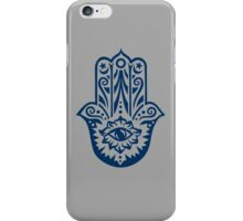 Hamsa - Hand of Fatima, protection amulet, symbol of strength and happiness iPhone Case/Skin