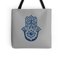 Hamsa - Hand of Fatima, protection amulet, symbol of strength and happiness Tote Bag