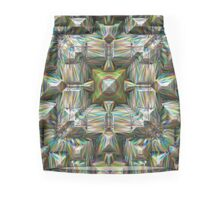 Structural Bands of Color   Mini Skirt