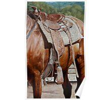 Western Saddle-Puck Fair Poster