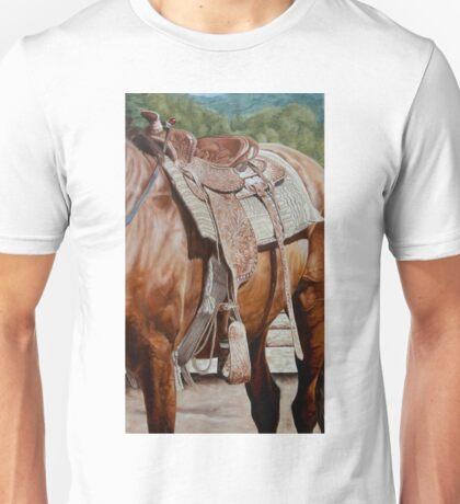 Western Saddle-Puck Fair Unisex T-Shirt