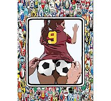 Footie Bum Bum Photographic Print