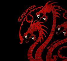 Targaryen Dragons - Game Of Thrones by MattDC